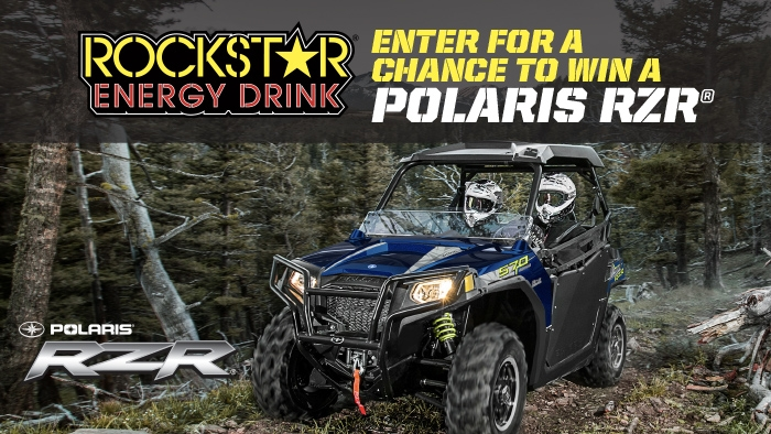 ROCKSTAR & KWIK FILL POLARIS SWEEPSTAKES