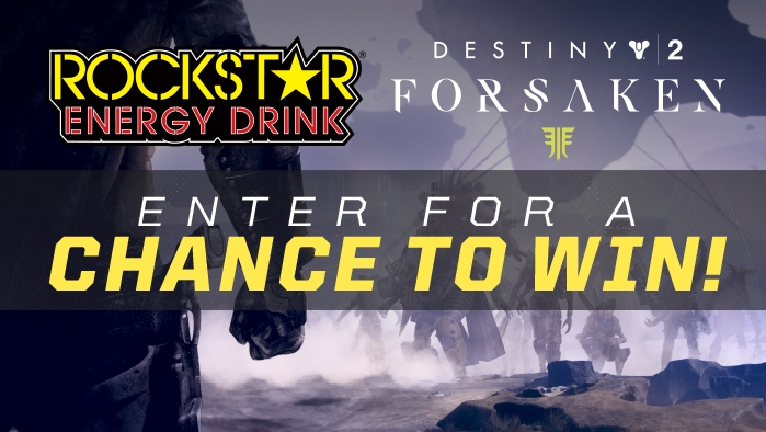ROCKSTAR & PIC QUIK DESTINY 2 SWEEPSTAKES