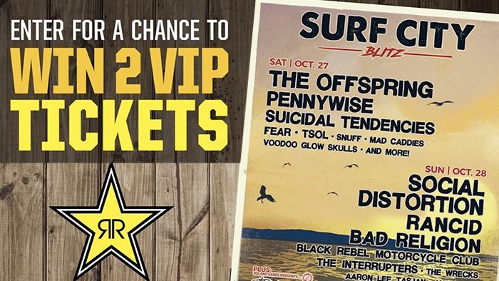 ROCKSTAR SURF CITY BLITZ SWEEPSTAKES