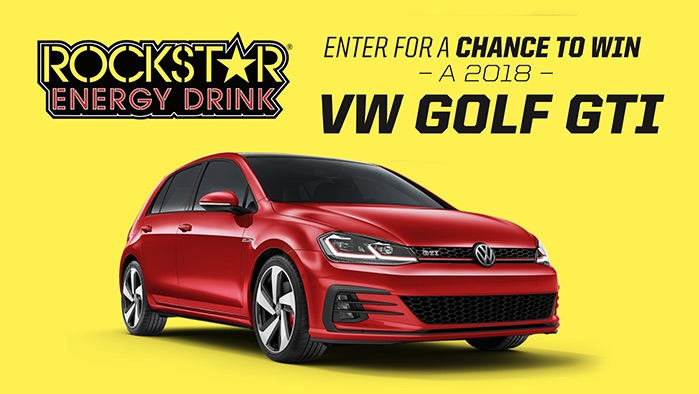 ROCKSTAR & CIRCLE K VW SWEEPSTAKES