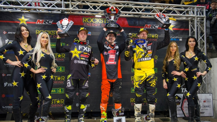 Second place for Nicoletti – Third for Goerke