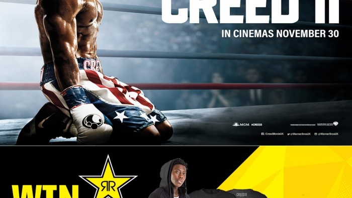 CREED II INSTAGRAM COMPETITION