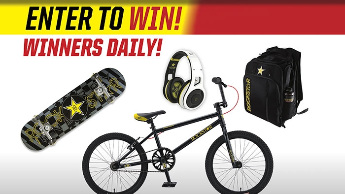ROCKSTAR & QT GEAR GIVEAWAY SWEEPSTAKES