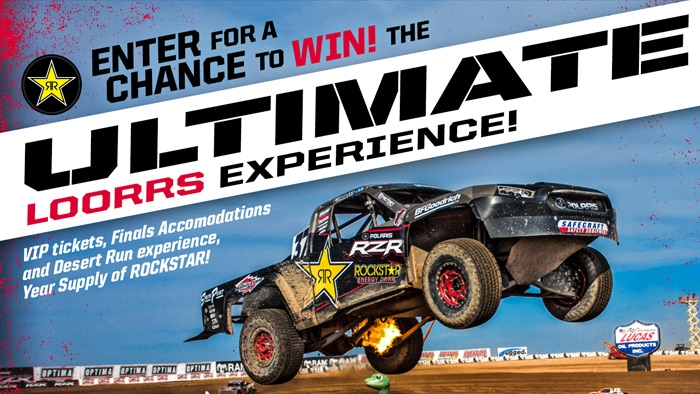 ROCKSTAR & QUIK TRIP OFF ROAD SWEEPSTAKES