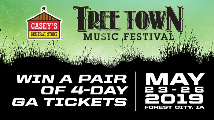 ROCKSTAR & CASEY'S TREE TOWN SWEEPSTAKES