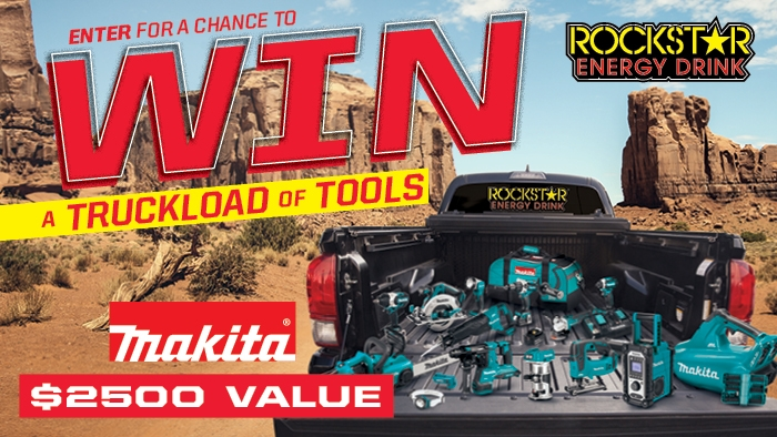 ROCKSTAR & CIRCLE K MAKITA SWEEPSTAKES!
