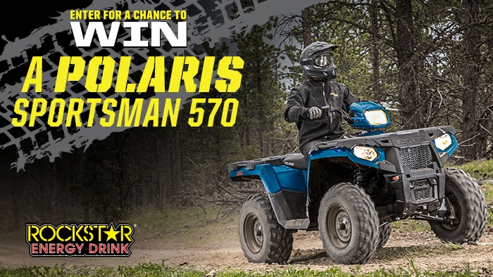 ROCKSTAR AND STOP & SHOP POLARIS SWEEPSTAKES - Rockstar Energy Drink