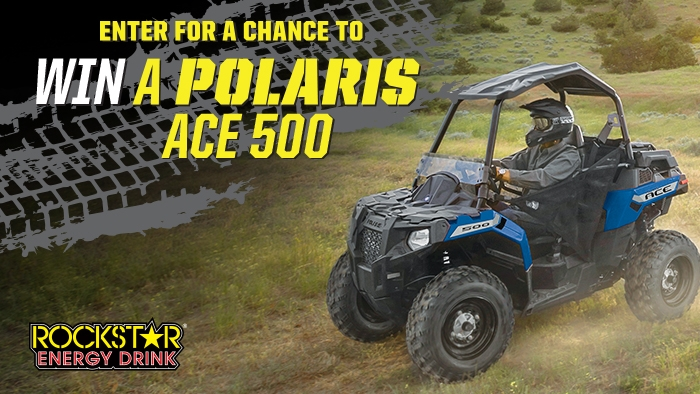 ROCKSTAR & BIG APPLE POLARIS SWEEPSTAKES