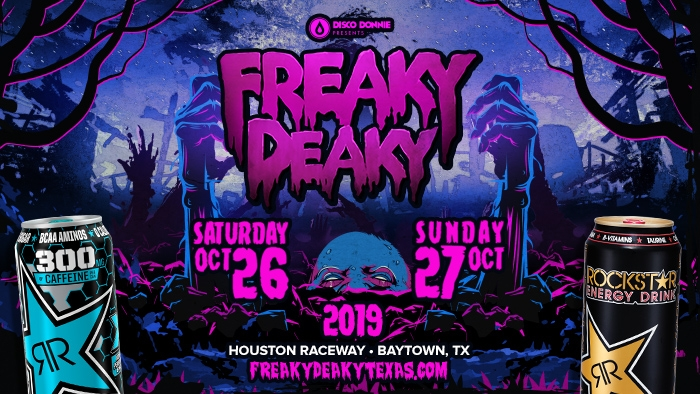 ROCKSTAR & TIMEWISE FREAKY DEAKY SWEEPSTAKES