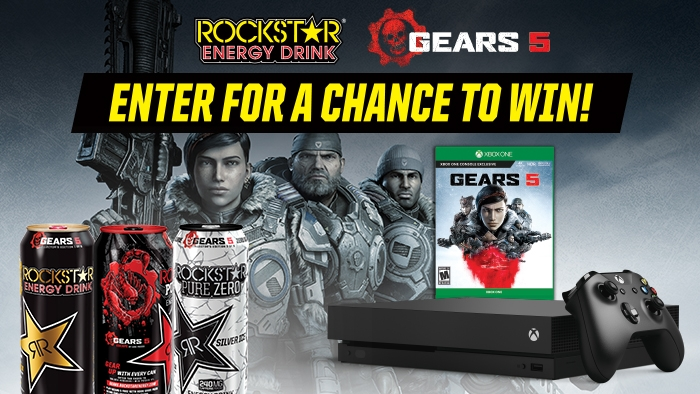 ROCKSTAR & JOHNNY'S GEARS 5 SWEEPSTAKES